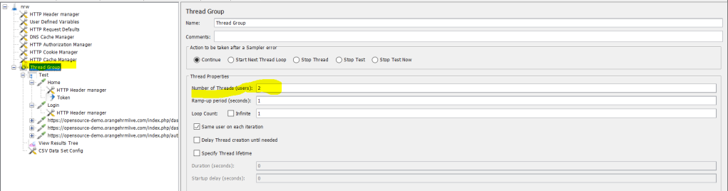Parameterize Scripts  in Jmeter  Learnsharelead.com